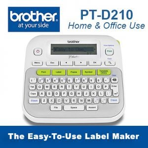 PT-D210 The Easy-To-Use Label Maker