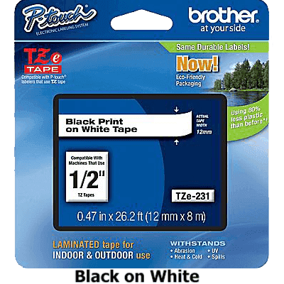Brother P-touch TZe-231