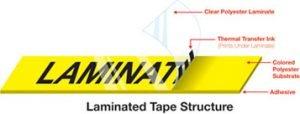 TZe Tape Lamination Process