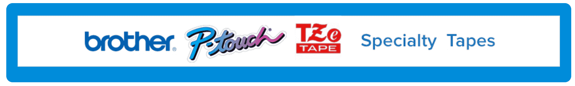 P-touch TZe Specialty Tapes