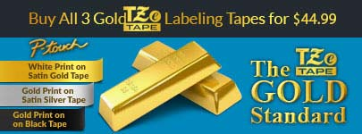 3 TZe Gold Tapes on Sale for $44.99
