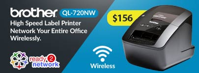 Brother QL-720NW on Sale for $159