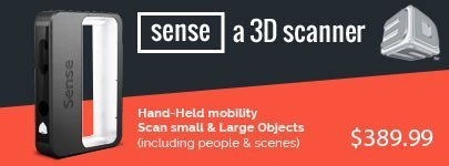 3D Systems Sense 3D Scanner for $389.99