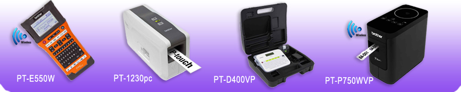 P-touch Barcoding Models