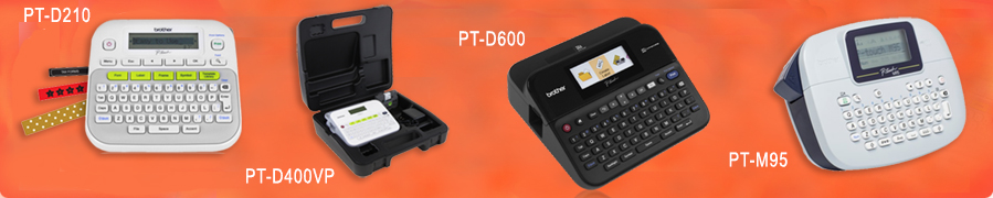 P-touch Desktop Labeling Systems