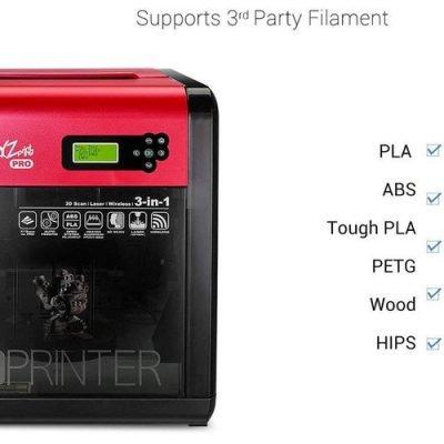 da Vinci 1.0 PRO 3 IN 1 3D Printer
