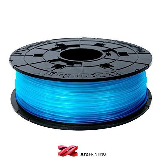 XYZprinting 1.75mm Clear Blue PLA