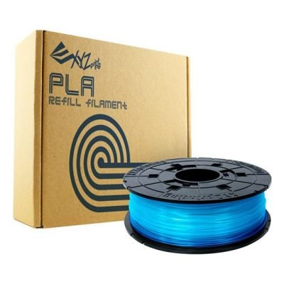 XYZprinting 1.75mm Clear Blue PLA Filament
