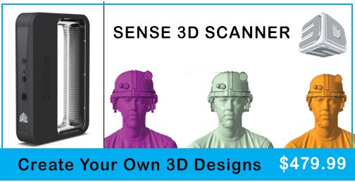 SENSE 3D SCANNER by 3D Systems $479.99 Create your own 3D Designs