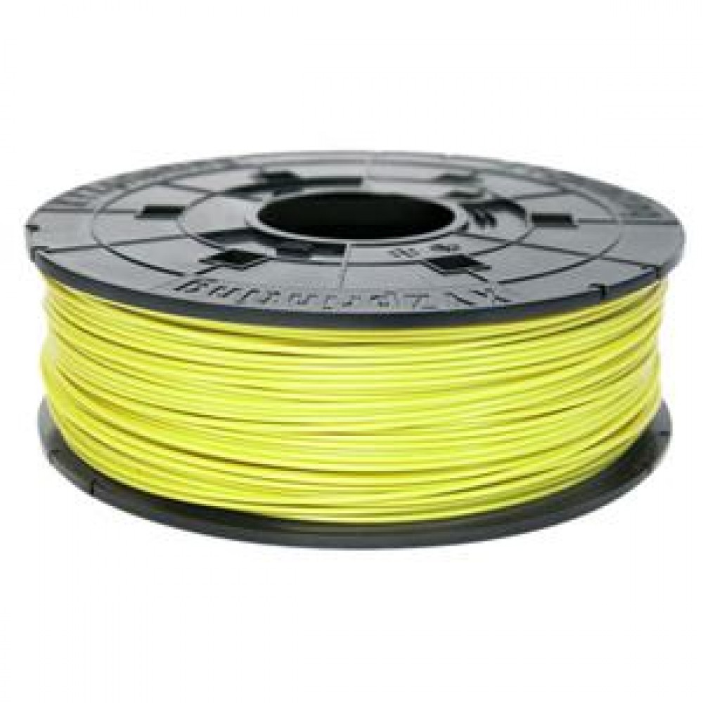 XYZprinting 1.75mm Cyber Yellow ABS Refill