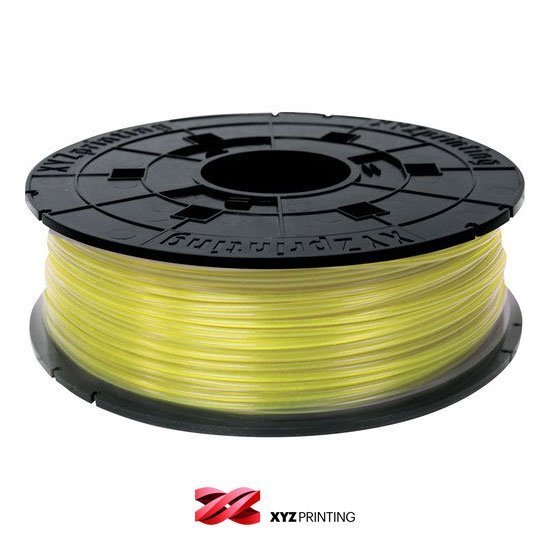 XYZprinting 1.75mm Clear Yellow PLA