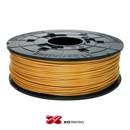 XYZprinting 1.75mm Gold PLA Filament