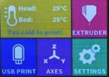 craftbot plus lcd display