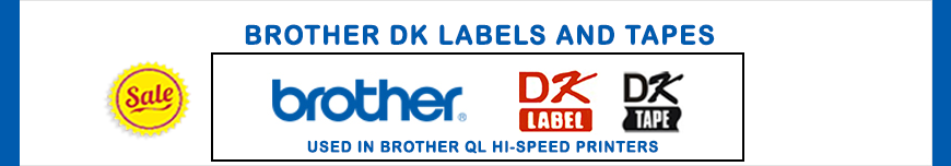 Brother DK Label Tape Banner