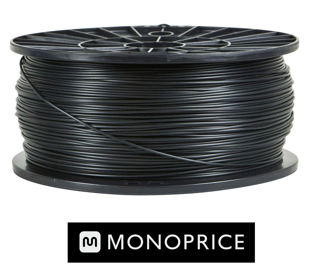 Monoprice BLACK ABS 3D Filament