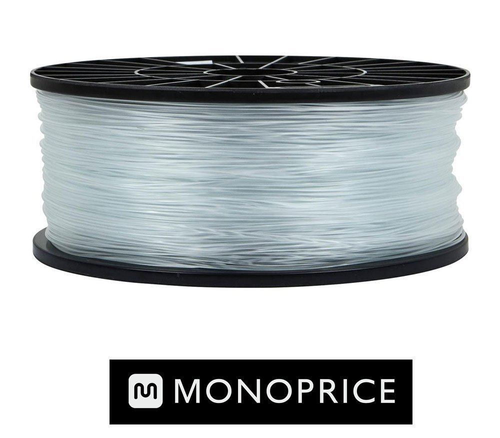 Monoprice Crystal Clear PLA 3D Filament
