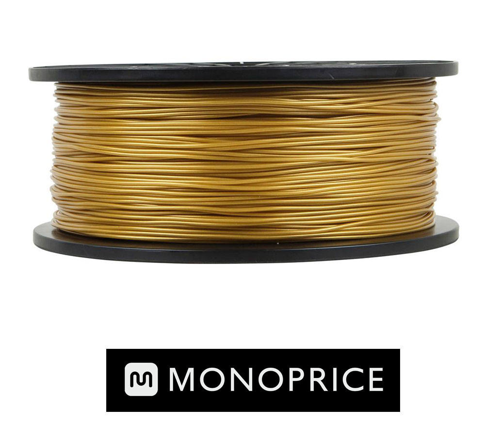 Monoprice GOLD PLA 3D Filament