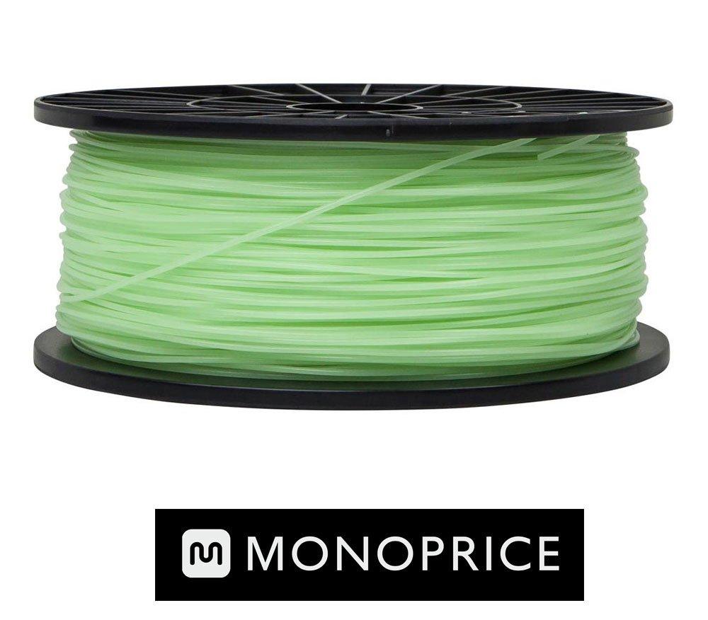 Monoprice Glow Dark GREEN PLA 3D Filament
