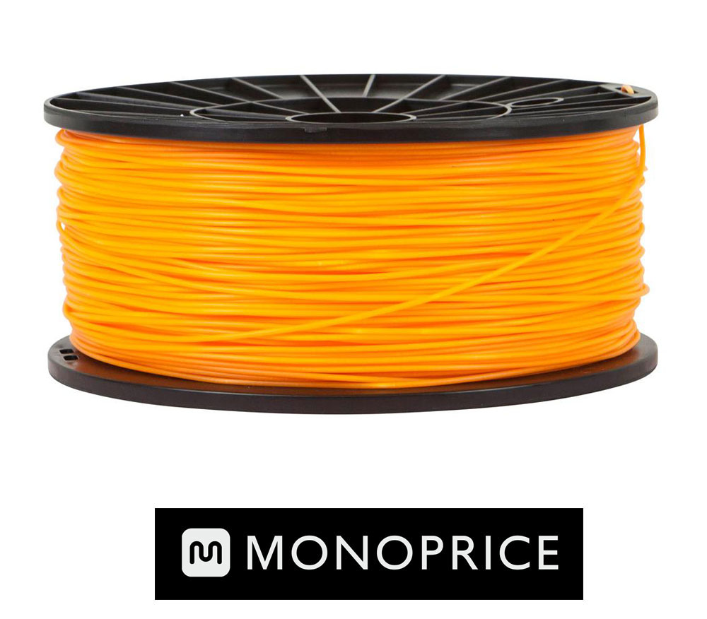Monoprice ORANGE PLA 3D Filament