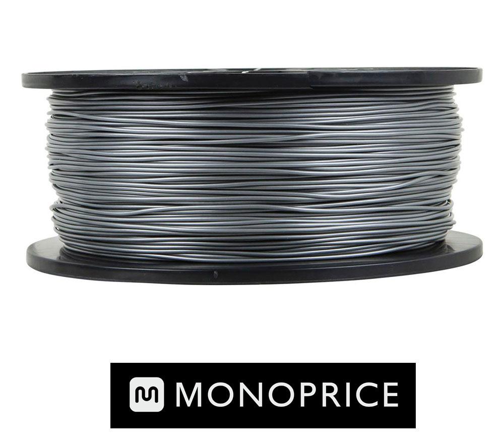 Monoprice SILVER PLA 3D Filament