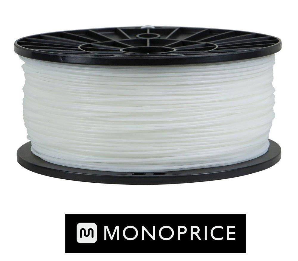 Monoprice WHITE PLA 3D Filament