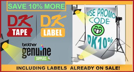 10% off DK Labels